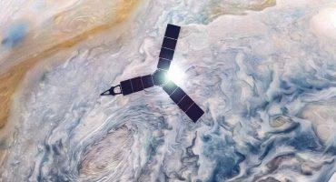 Como cuando las tormentas en Júpiter parecen pinturas al óleo 😍