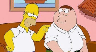 Crossover creativo: creadores de Los Simpsons y Padre de Familia se dibujan el uno al otro