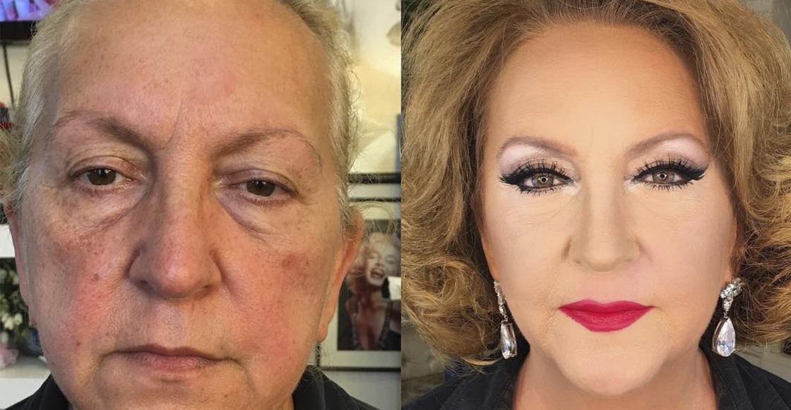 ¡La magia del maquillaje! Un artista logra que las mujeres parezcan más jóvenes de lo que son
