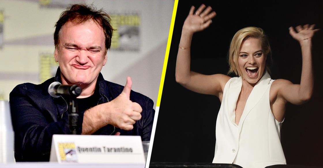 """Margot Robbie dice que """"mataría"""" por trabajar con Quentin Tarantino"""