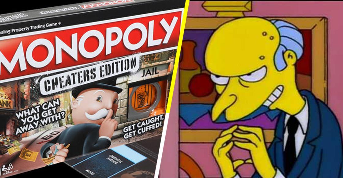 Ahora los robos y estafas serán legales... ¡Sí! En la edición especial de Monopoly para tramposos