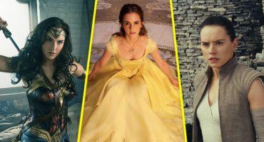 Las películas más taquilleras de 2017 fueron protagonizadas por mujeres