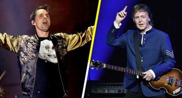 Paul McCartney y Matt Bellamy de Muse cantan juntos 'Helter Skelter'