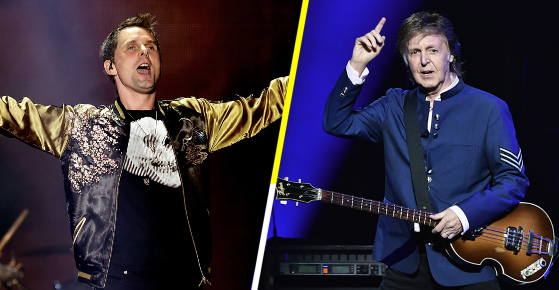 Paul McCartney y Matt Bellamy de Muse cantan juntos 'Helter Skelter'
