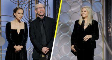 Natalie Portman y Barbra Streisand exigen igualdad en los Golden Globes 2018