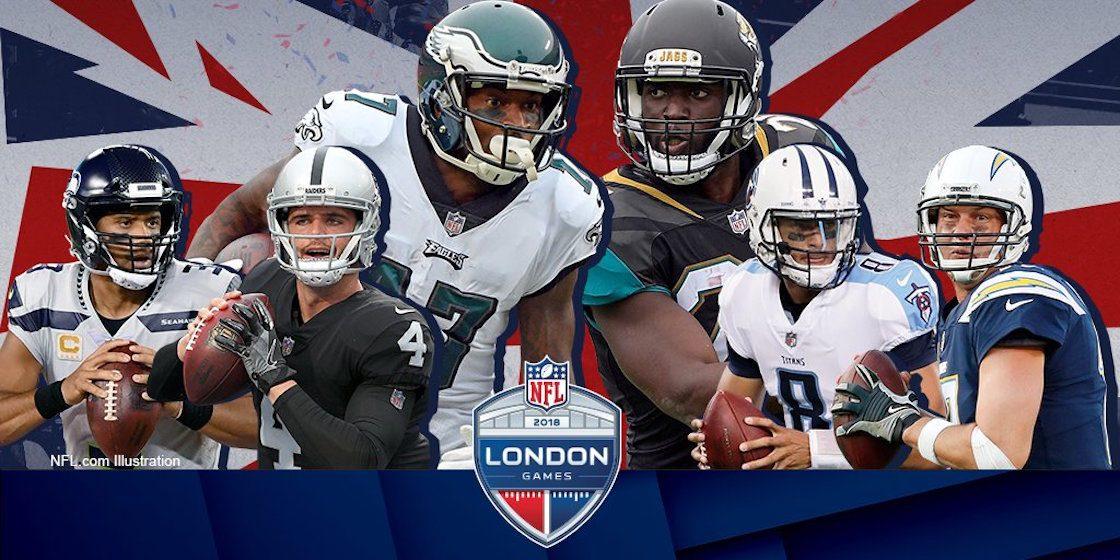 ¡La NFL tendrá tres partidazos en Londres para este 2018!
