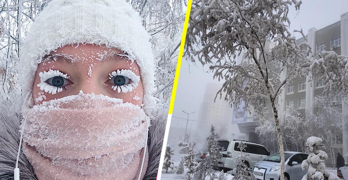 ¿Y te quejas del frío en México? En este pueblo ruso llegaron a los -62ºC