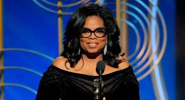'El tiempo se les acabó': Oprah dio uno de los discursos más poderosos de la historia