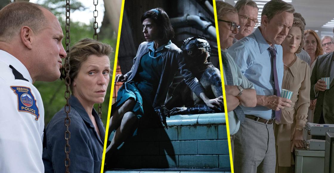 The Shape of Water, Three Billboards, The Post... ¡ellos son los nominados a los Oscar 2018!