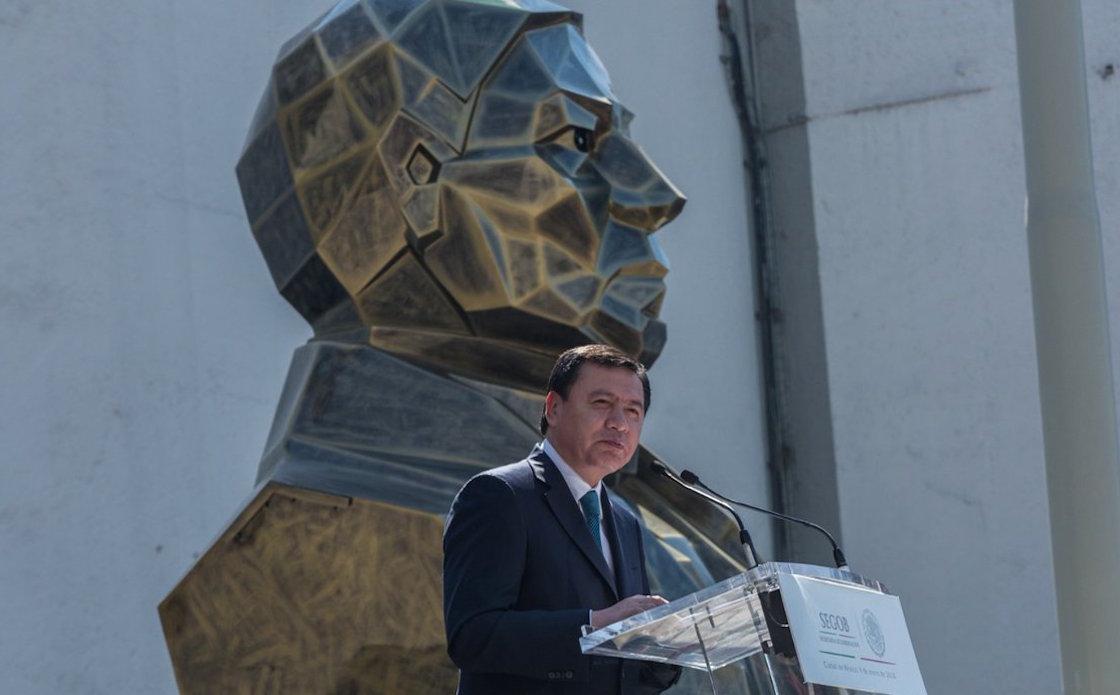Miguel Ángel Osorio Chong deja su cargo como secretario de Gobernación