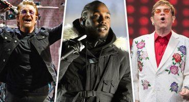 ¡Reunión de grandes! U2, Kendrick Lamar, Elton John y más tocarán en los Grammy 2018