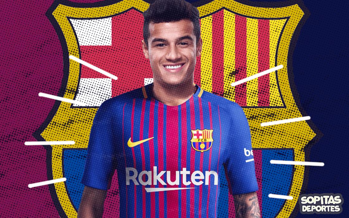 OFICIAL: Al fin se le hizo al Barcelona firmar a Coutinho