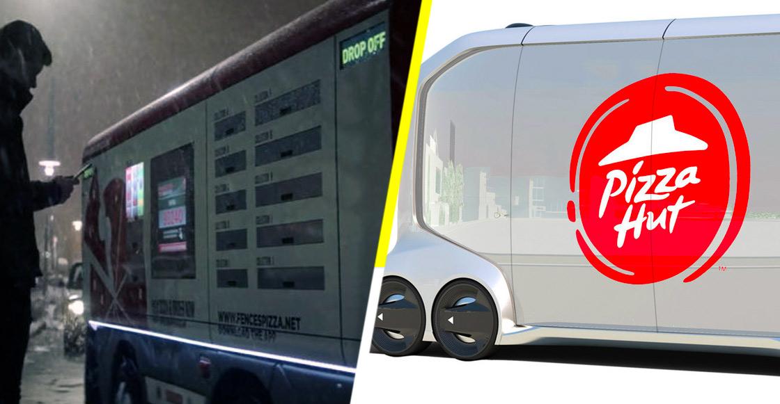 Pizza Hut vuelve realidad la tecnología que aparece en 'Black Mirror'