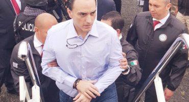 Y en la nota idiota del día: Llevan a Roberto Borge a penal... femenil