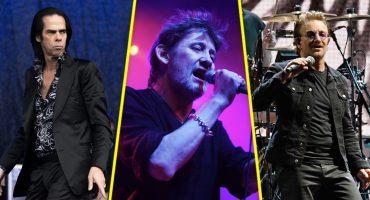 Nick Cave y Bono celebran el cumpleaños de Shane MacGowan de The Pogues