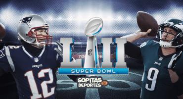 ¡Tenemos Super Bowl LII! Patriots vs Eagles