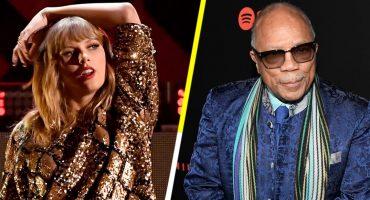 PUUUUM: Quincy Jones critica sin piedad la música de Taylor Swift