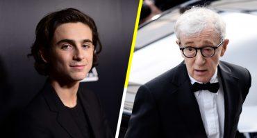 Uno más: Timothée Chalamet dona sus ganancias por su trabajo con Woody Allen