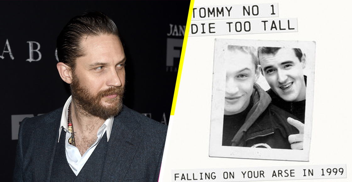 Throwback! Escucha el mixtape de rap del 99 de… ¡Tom Hardy!