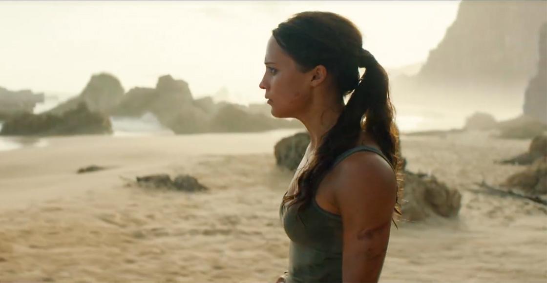 ¡Paka, puk pik! Mira el nuevo tráiler de 'Tomb Raider' con Alicia Vikander