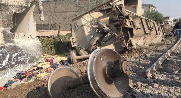 """Vías sobre las que descarriló tren estaban en condiciones """"aceptables"""": SCT"""