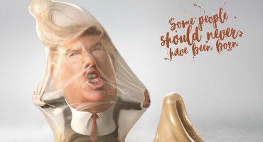 Una campaña brasileña usó a Trump y a Kim Jong-un y los puso dentro de condones