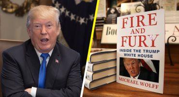 ¿Yei? El libro infame 'Fire and Fury' sobre Trump podría ser una serie