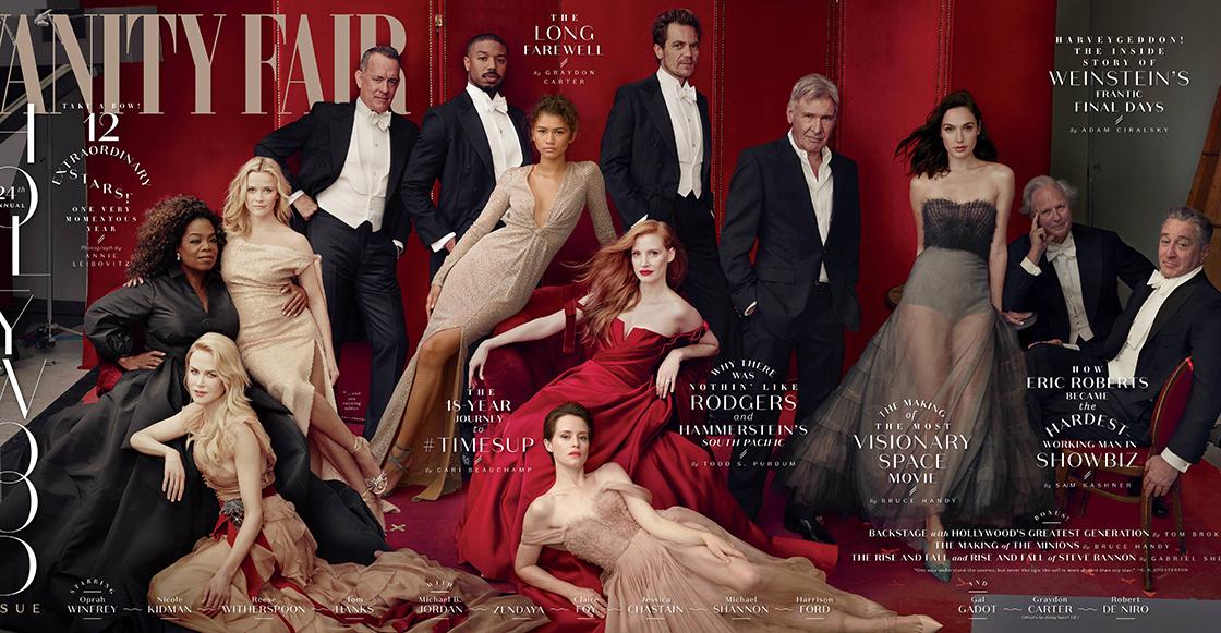 ¿Dónde quedó? James Franco es removido de la portada de Vanity Fair