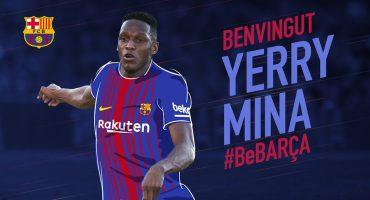 Oficial: Barcelona ficha al colombiano, Yerri Mina