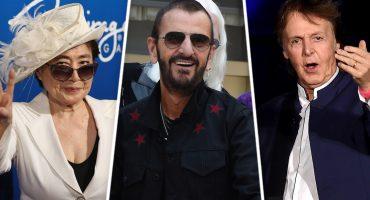 Yoko Ono y Paul McCartney felicitan a Ringo por su título de