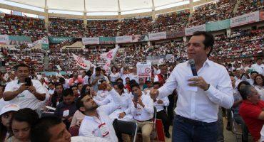Roberto Albores Gleason va por Chiapas con el PRI... fue el único que se registró