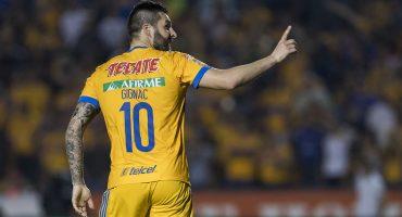 Gignac y 10 más; el francés le resolvió el partido a Tigres contra el último lugar