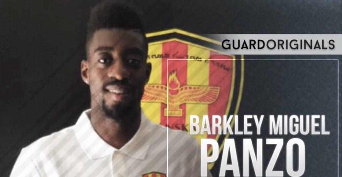 Un club lituano fichó a Barkley Miguel-Panzo por un perfil falso en Wikipedia