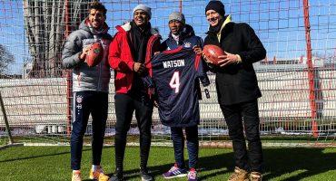Tras empatar con Berlin, el Bayern entrenó pases de futbol americano