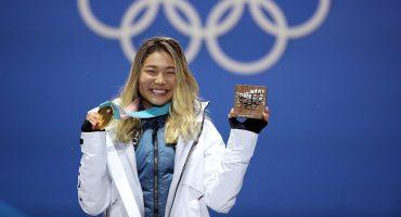 Después de ganar el Oro, Chloe Kim ya puede comer todo el helado que quiera