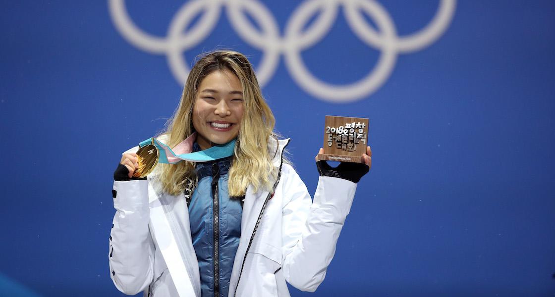 Después de ganar el oro, Chloe Kim ya puede ir por todo el helado que quiera