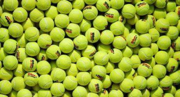 Verdes o amarillas ¿de qué color son realmente las pelotas de tenis?