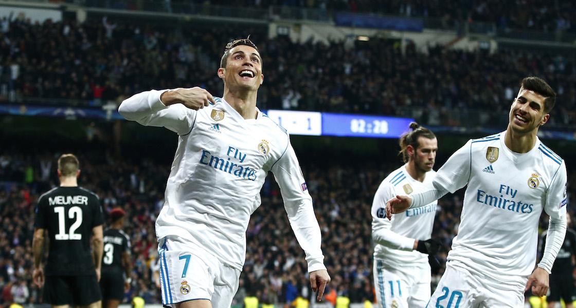 Real Madrid defendió su casa ante el asedio Parisino para ganarles 3-1