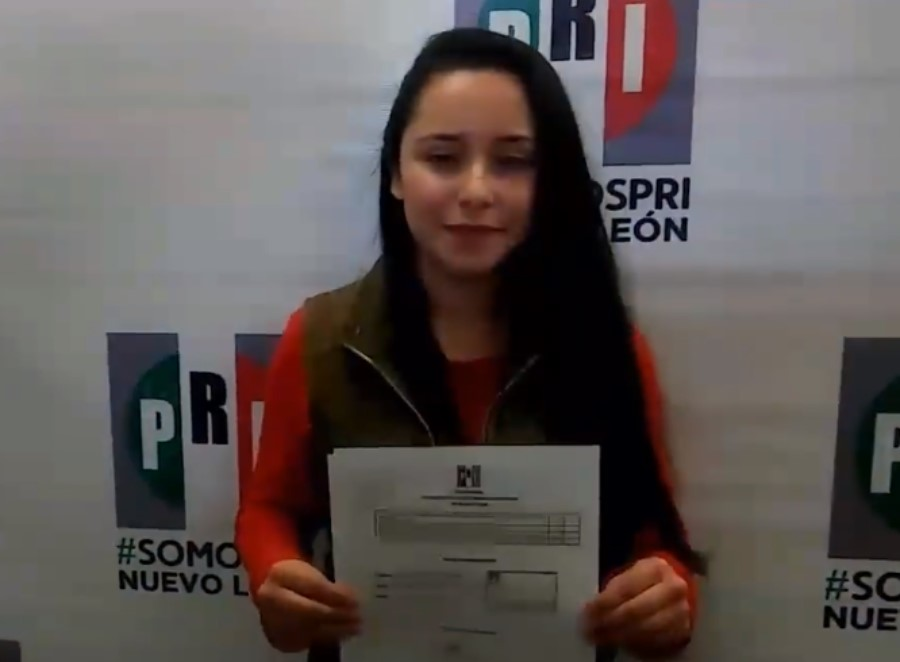 Deisy Karely Salinas de la Fuente aspirante a alcaldía de Rayones, NL