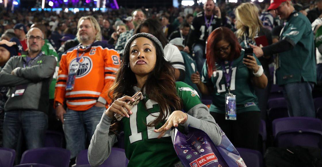 Por qué no, aficionado se robó su asiento después de que los Eagles ganaran el Super Bowl LII