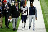De inmediato fue atendido y se lo llevaron a los vestidores / Getty Images