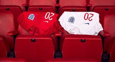 Inglaterra presentó su nuevo uniforme para el Mundial de Rusia 2018