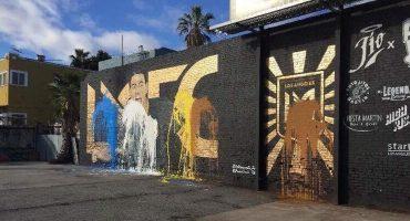 Le hicieron un mural a Carlos Vela en Los Ángeles, pero ya fue vandalizado