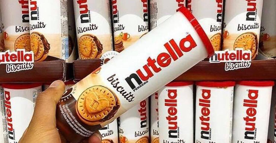 Sweet Lord of Chocolate: ¡Al fin hicieron galletas de NUTELLA!