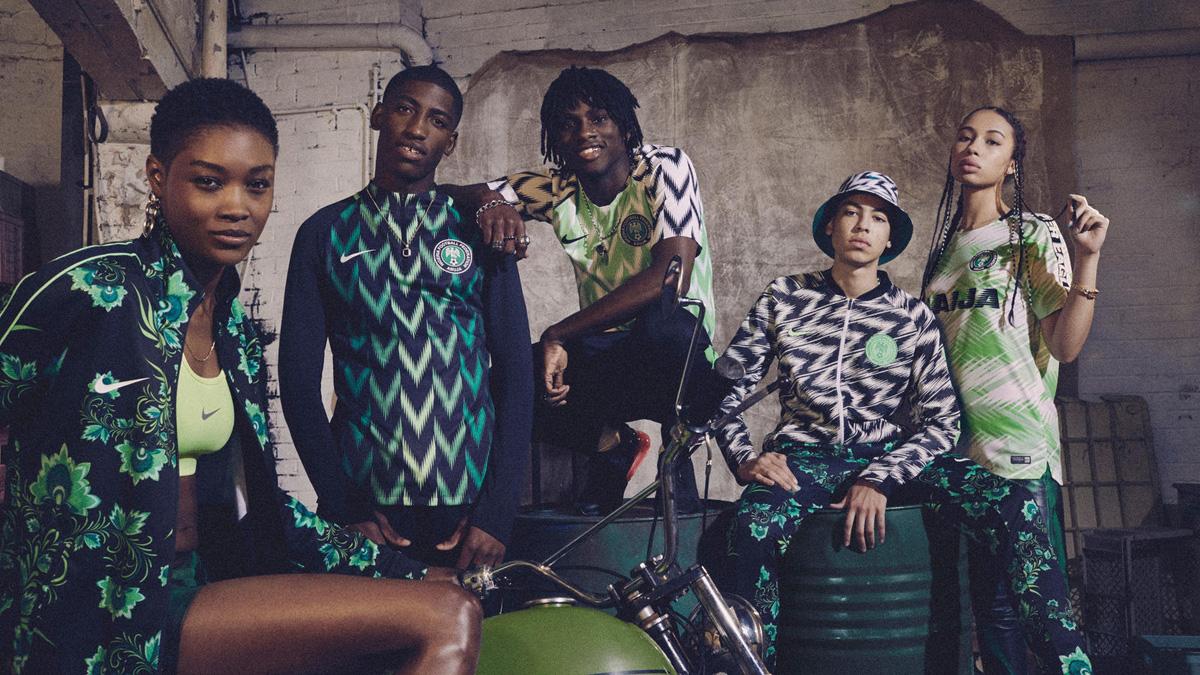 El nuevo uniforme de Nigeria para Rusia 2018 está 🔥🔥🔥🔥