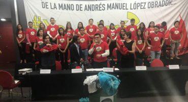 Al menos 500 jóvenes se van de Nueva Alianza a Morena