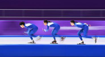 Esta es la insólita razón por la que los patinadores olímpicos visten de azul en Pyeongchang '18