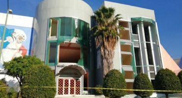 Edificio del SNTE es vandalizado por maestros del CETEG