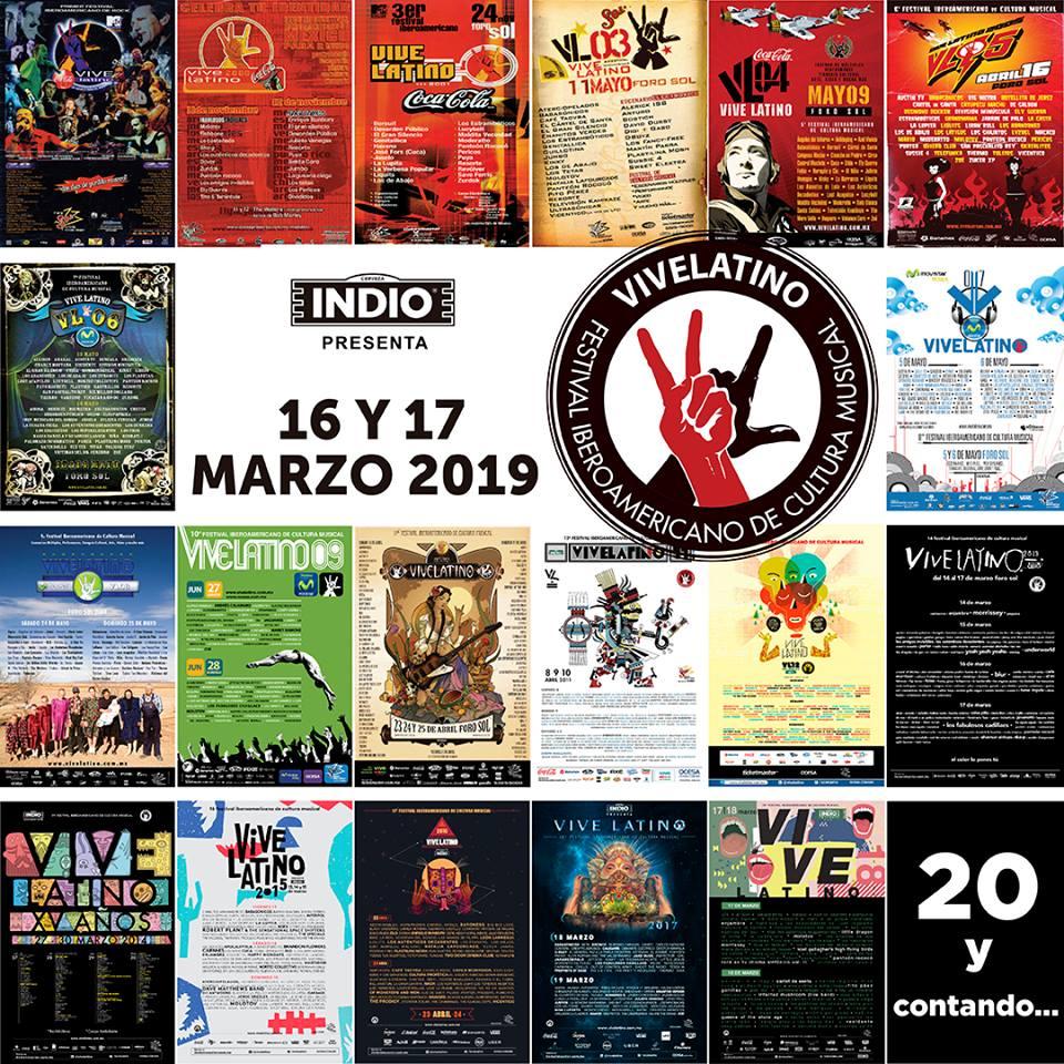 Vive Latino 20 años