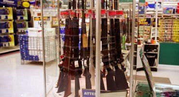 Walmart cambia sus políticas de venta de armamento y municiones en Estados Unidos